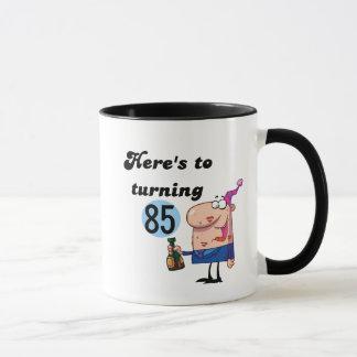 Cheers to 85 Birthday Tshirts and Gifts Mug