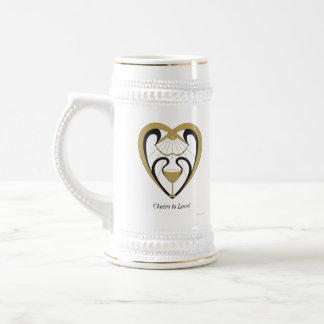 Cheers to Love Beer Stein