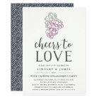Cheers to Love | Engagement Party Invitation