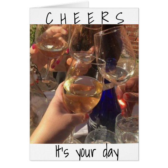 **CHEERS** TO THE ****BEST BIRTHDAY YET*** CARD