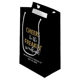 Cheers to the Freakin' Weekend Survival Kit Bag
