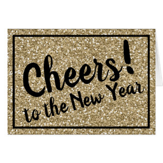 Cheers! to the New Year! Card