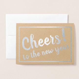 Cheers! to the New Year! Foil Card