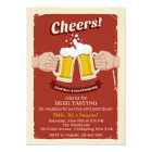 Cheers With Good Beers Invitation