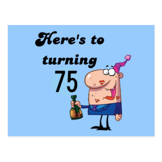 CHEERSTO75 POST CARD