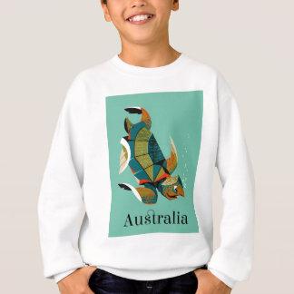 Cheery Australian Sea Turtle Sweatshirt