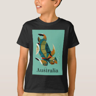 Cheery Australian Sea Turtle T-Shirt