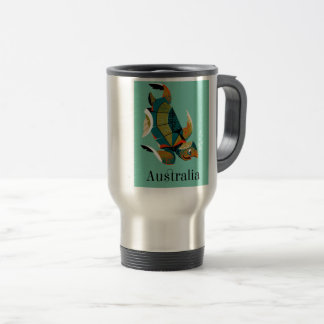 Cheery Australian Sea Turtle Travel Mug