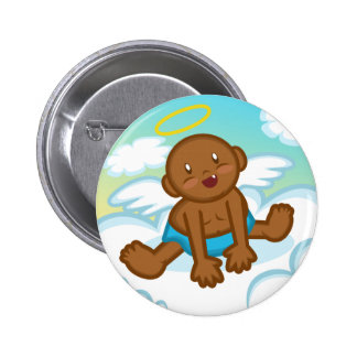 Cheery Baby Boy Angel 3 Button