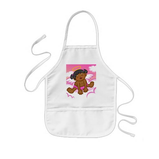 Cheery Baby Girl: Angel 3 Apron