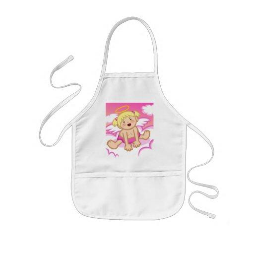 Cheery Baby Girl: Angel  Apron