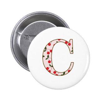 Cheery Cherry C Pins