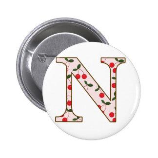 Cheery Cherry N 2 Inch Round Button