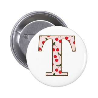 Cheery Cherry T 2 Inch Round Button