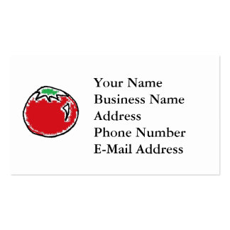 Cheery Cherry Tomato Cartoon Pack Of Standard Business Cards