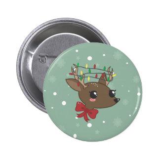 Cheery Deer Buttons