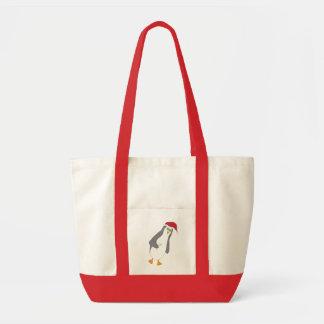 cheery penguin impulse tote bag