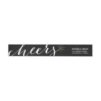 Cheery Sparkler Return Address Label