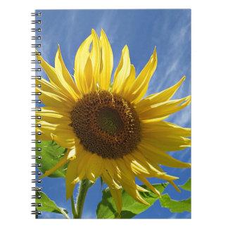 Cheery Sunflower Notebooks