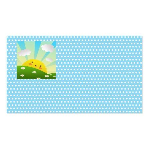 Cheery Sunrise Business Card