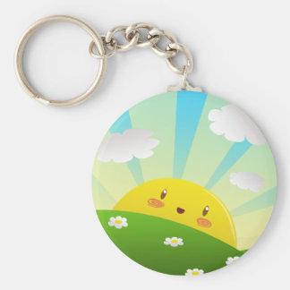 Cheery Sunrise  Keychain