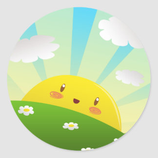 Cheery Sunrise Sticker