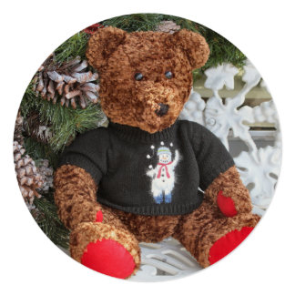 Cheery Teddy Card