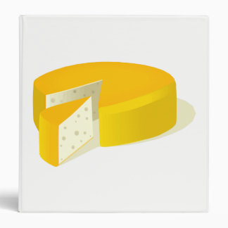 Cheese 3 Ring Binder