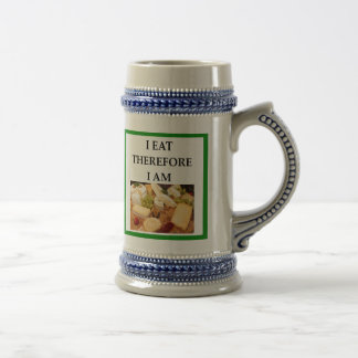cheese beer stein