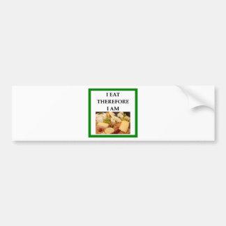 cheese bumper sticker