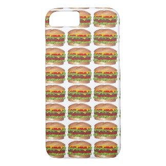 Cheese Burger Hamburger Cheeseburger Foodie Case