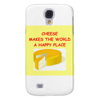 cheese galaxy s4 cover