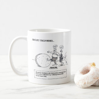 Cheese Factory right hand cartoon mug