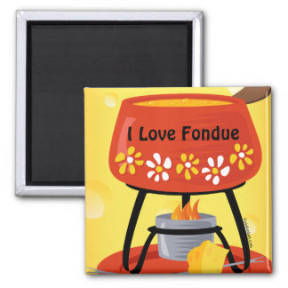 Cheese Fondue Magnet