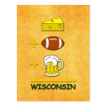 Cheese Football Beer Wisconsin