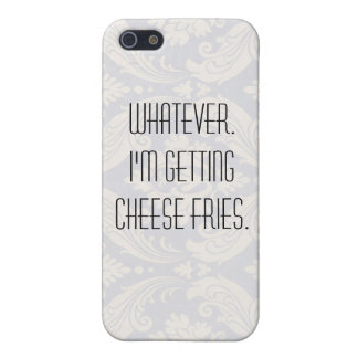 Cheese fries. iPhone 5 cover