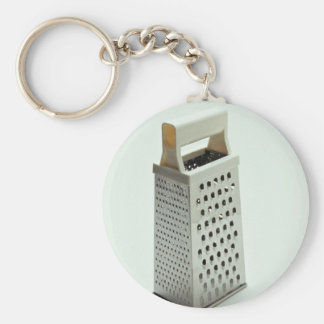 Cheese grater for Kitchen Basic Round Button Keychain