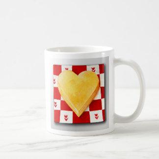 Cheese, I Love You, America Classic White Coffee Mug