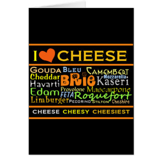 Cheese Lovers Card