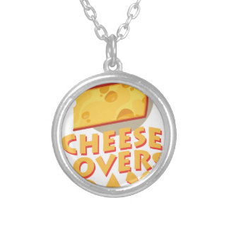 Cheese Lovers Day - Appreciation Day Silver Plated Necklace