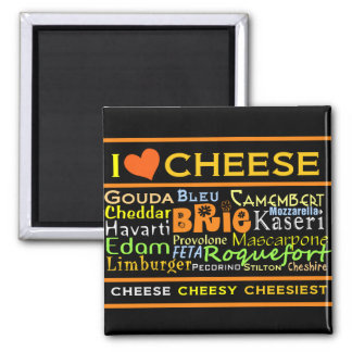 Cheese Lovers Magnet