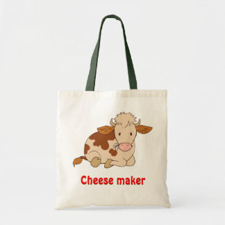 Cheese maker tote bag