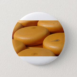 Cheese market. 2 inch round button