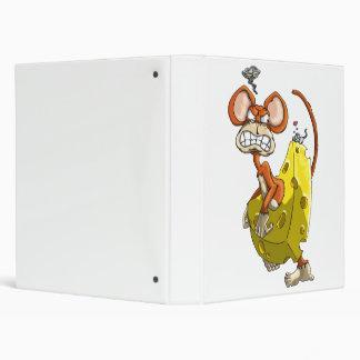 Cheese Monkey 3 Ring Binder