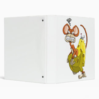 Cheese Monkey Vinyl Binder