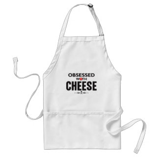 Cheese Obsessed Standard Apron