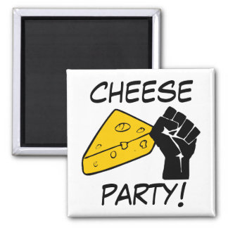 Cheese Party Magnet