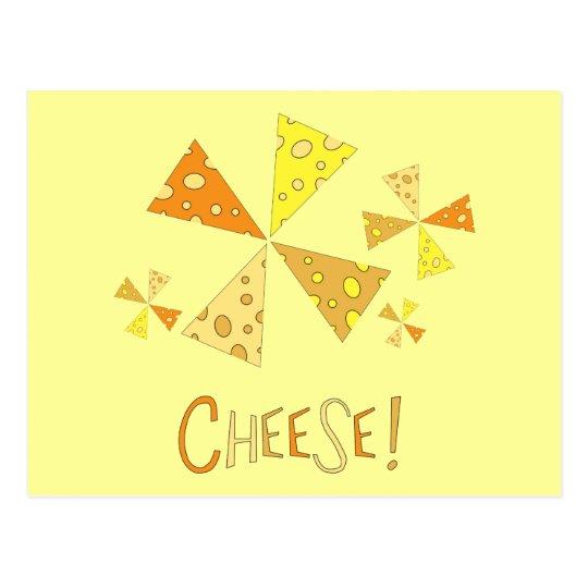 Cheese! Postcard