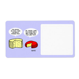 Cheese Themed Cute Funny Cartoon Food Storage