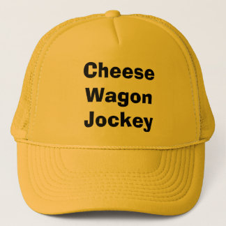 Cheese Wagon Jockey Trucker Hat